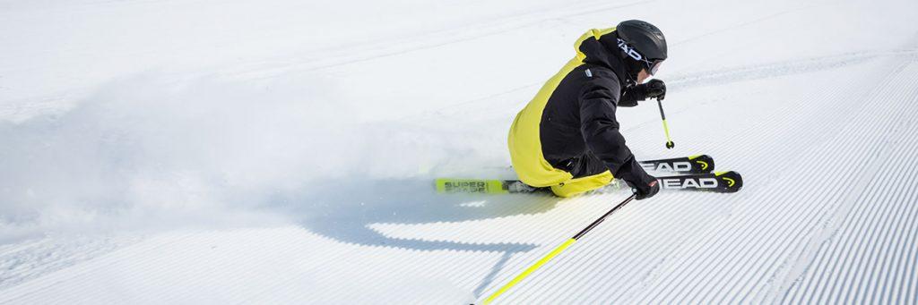 Head Ski und Bekleidung